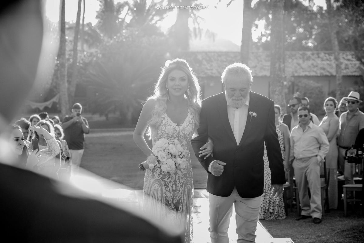 entrada da noiva sotter fotografia