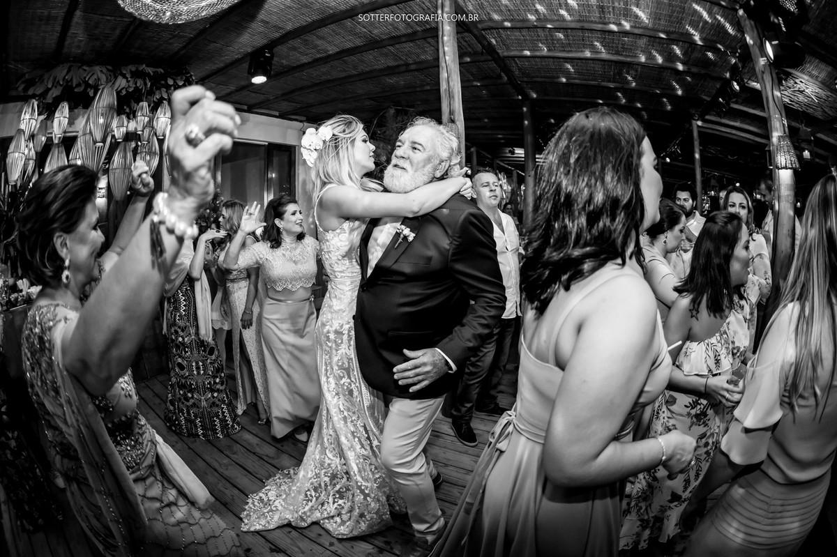 noiva com o pai, casamento
