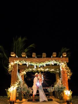 Casamento de Juliana & Marcel em Arraial D´ajuda -Ba