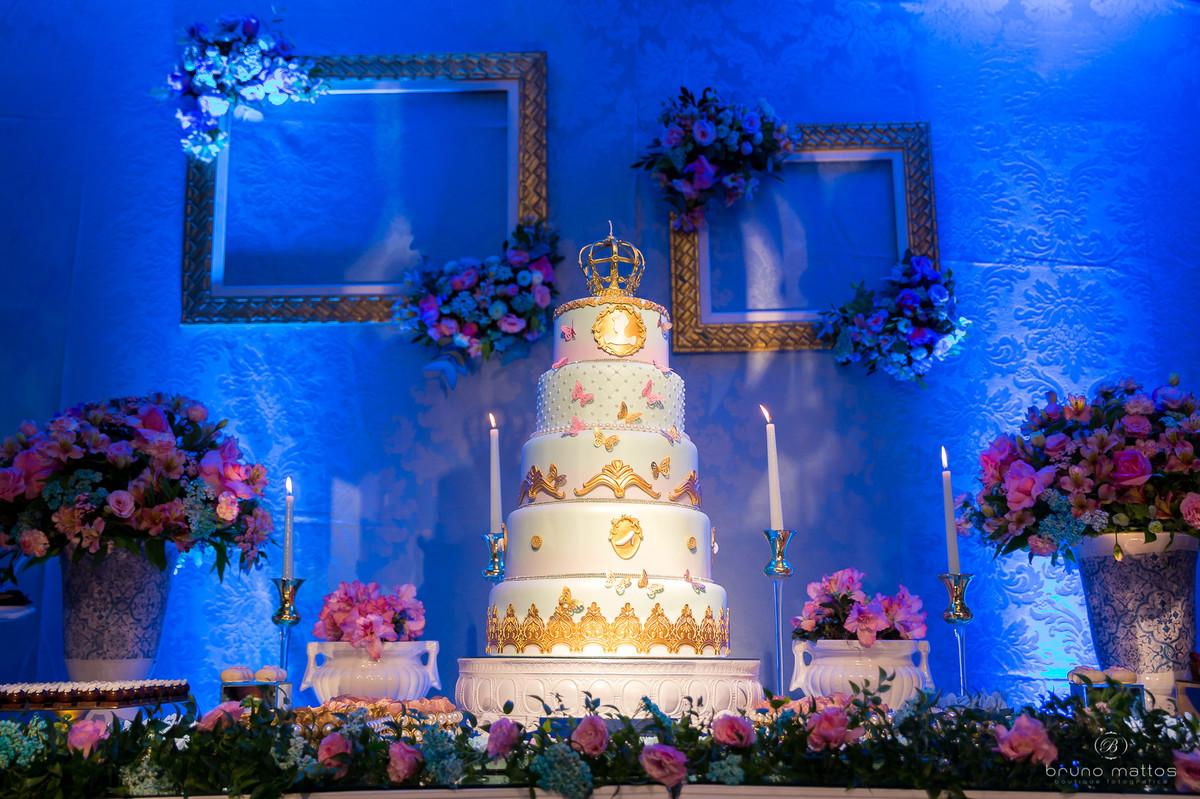 bolo visto de frente