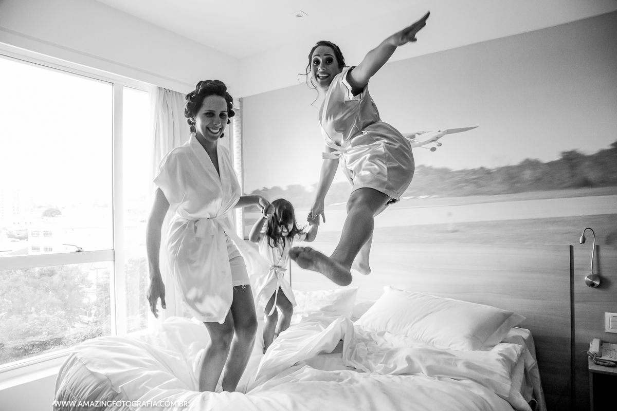 Making of da noiva no hotel hilton com a fotografia da Amazing Fotografia