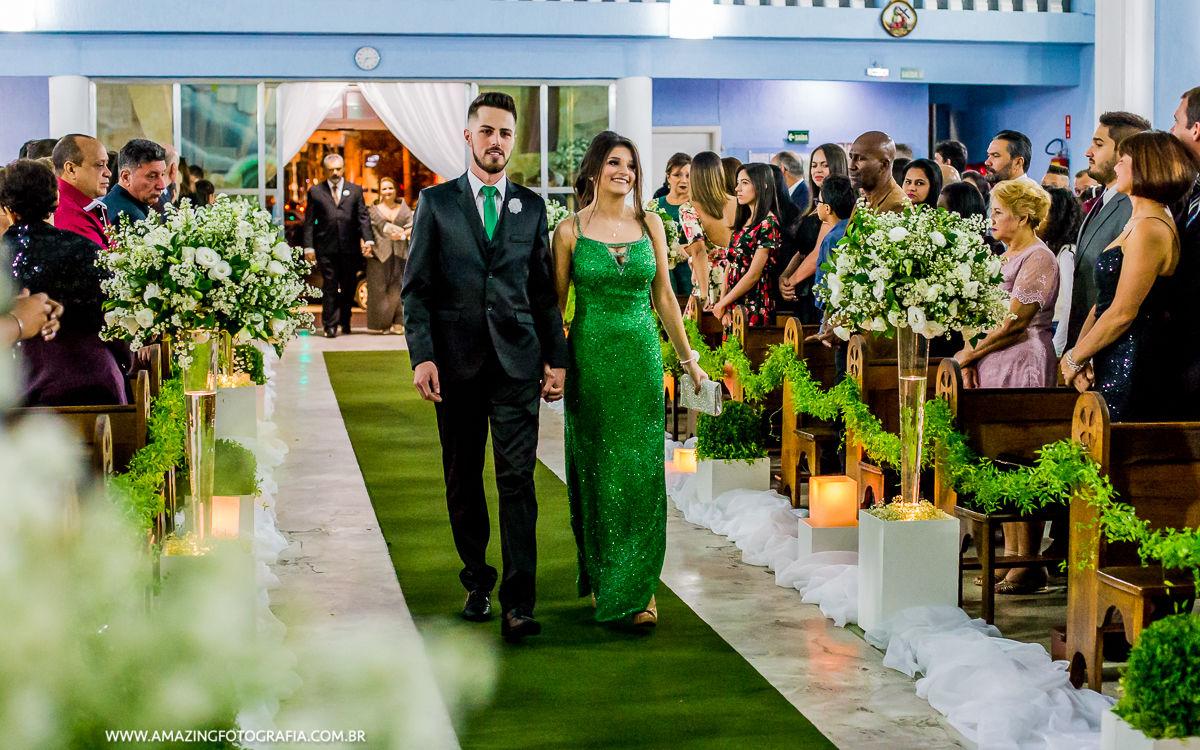 Entrada dos Padrinhos na zona norte de SP, com o fotografo de casamento Sergio Damasceno