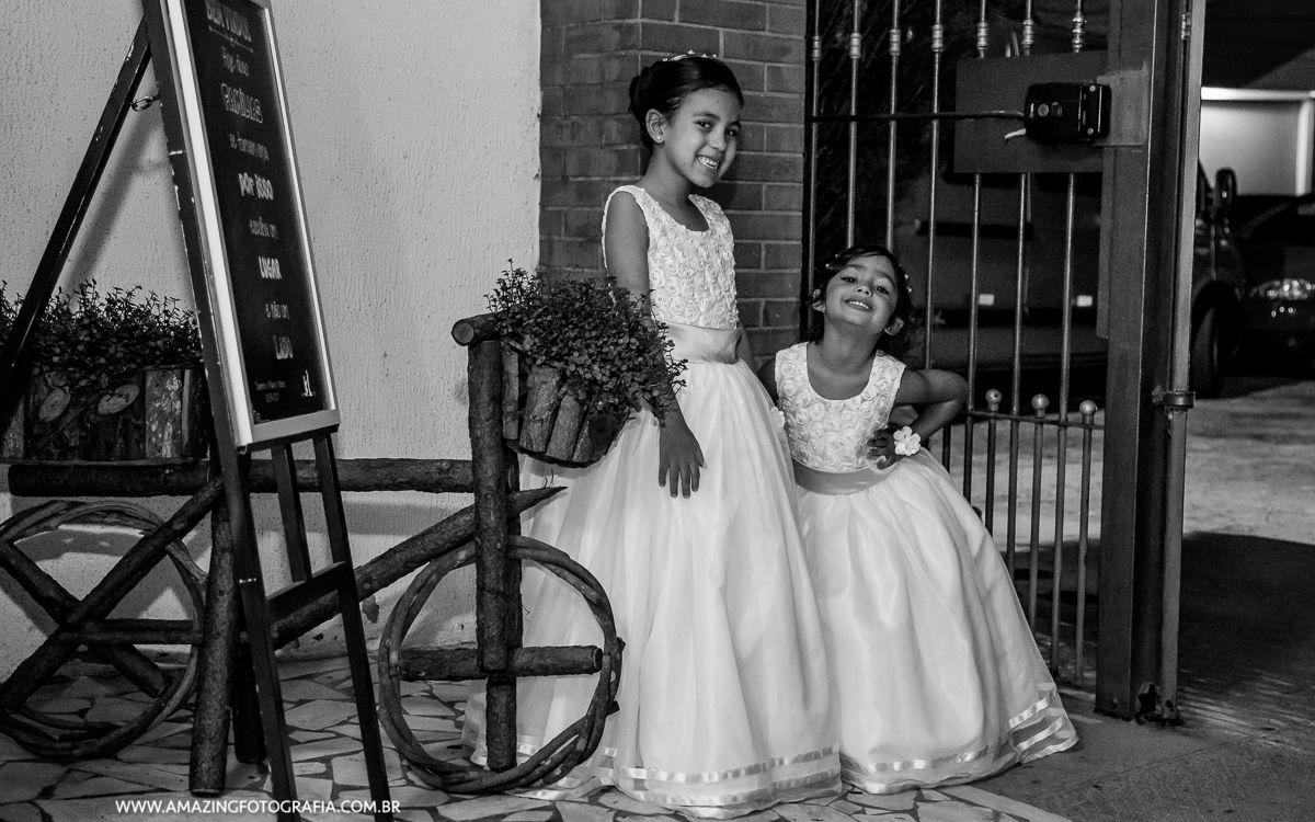 Fotografo de Casamento Sergio Damasceno registrando a espontaneidade das crianças