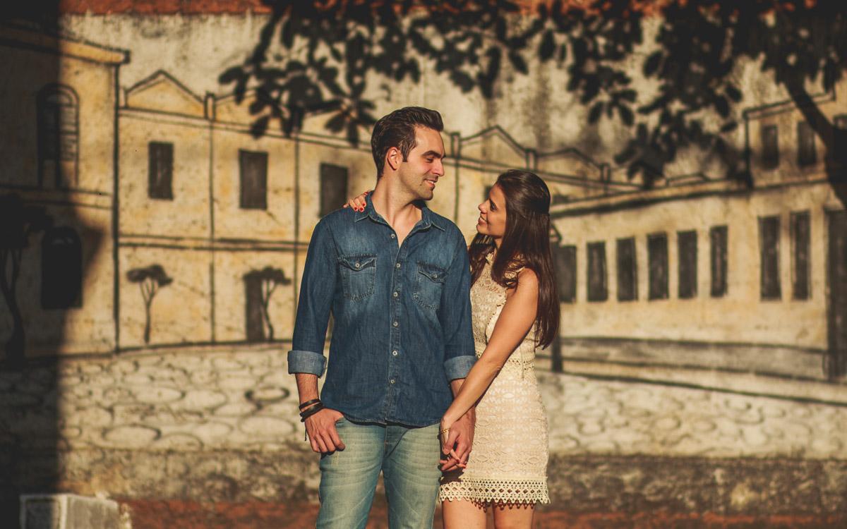 Vila Maria Zelia foi palco para o ensaio de casais da Larissa e do Alan