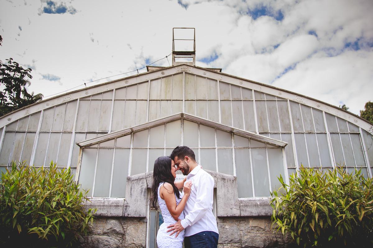 Amazing Fotografia realizado o Book de Casal no Jardim Botanico