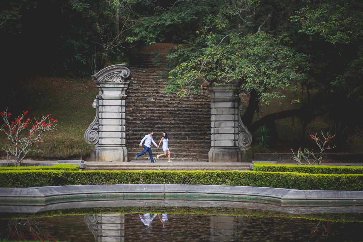 Book de Casal no Jardim Botanico de SP