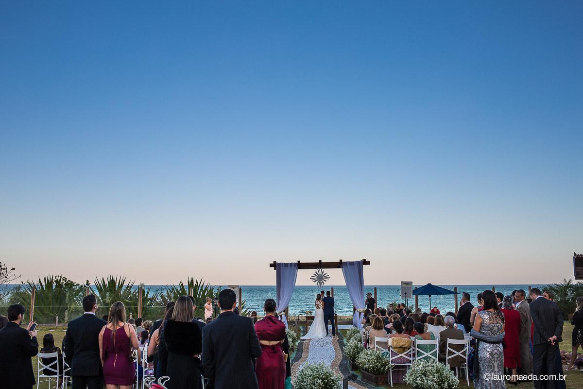 Cerimônia de casamento da Ingrid e Raphael