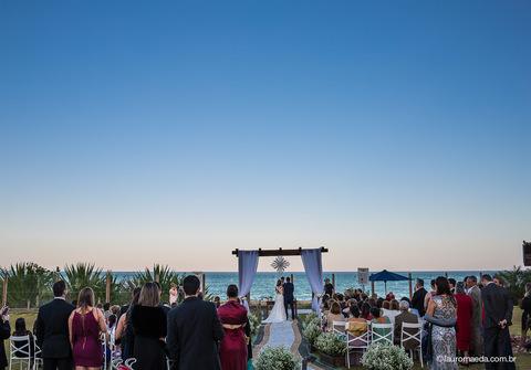 Casamentos de Ingrid e Raphael dizem sim num pedaço do paraíso