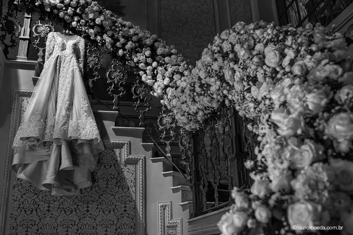 O vestido da noiva assinado pelo estilista Gesoni Pawlick