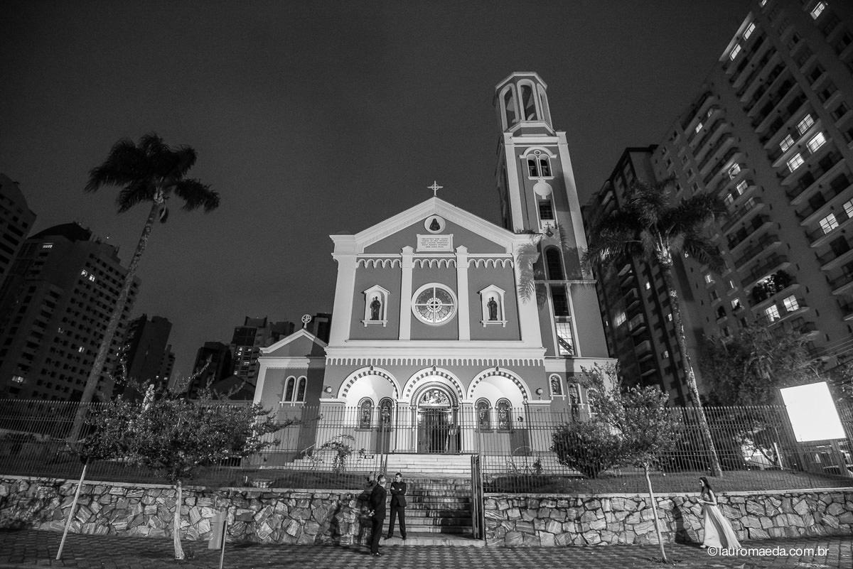 Fachada da Igreja Santa Terezinha