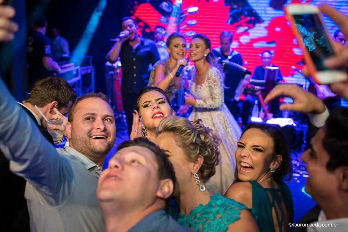 Festa do casamento da Camila e Antonio