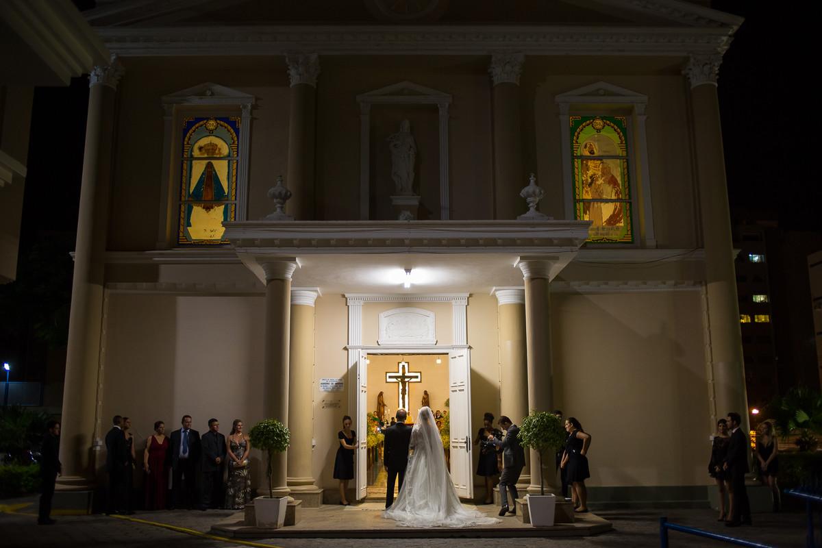 Cerimônia na Igreja do Colégio Catarinense