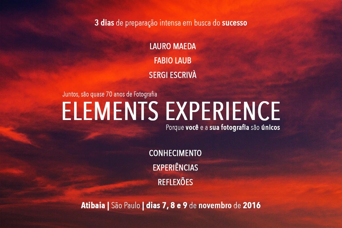 Elements Workshop Atibaia