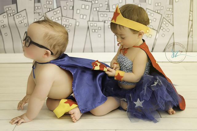 Infantil de Sessão Sofia e Caio - 11 meses
