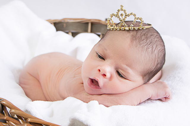Ensaio Newborn de Alice   7 dias