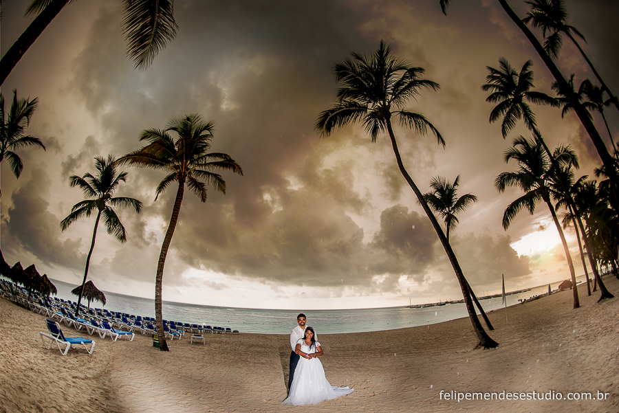 Trash the dress da beatriz e jorge em punta cana, republica dominicana, Meliá Caribe Tropical All Inclusive Beach