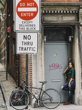 Ensaio de Rebeca 15 anos - em New York