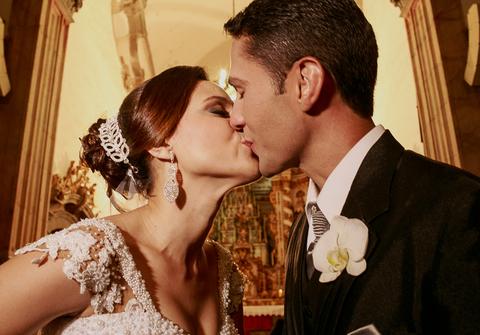 Casamentos de Glaucilayne e Deyvison - o casamento