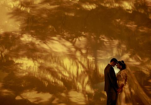 Casamentos de Sânia e Fernando - o casamento