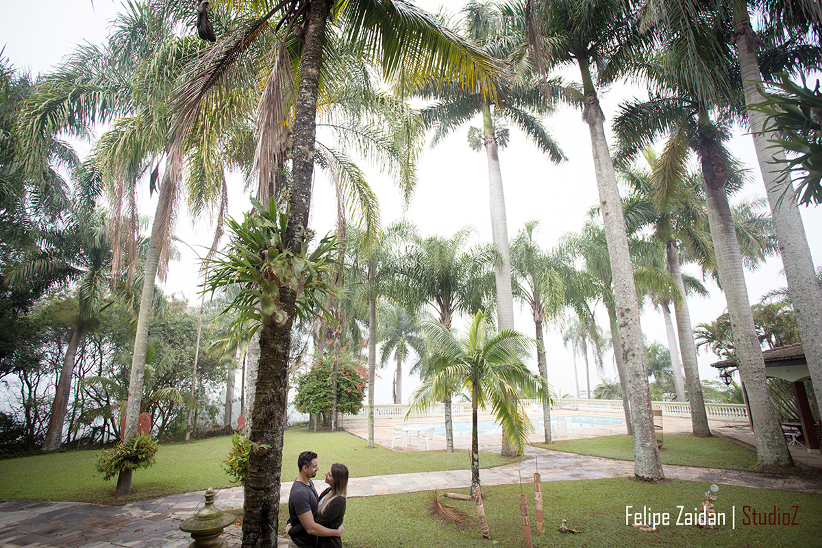Foto de Luciana e André