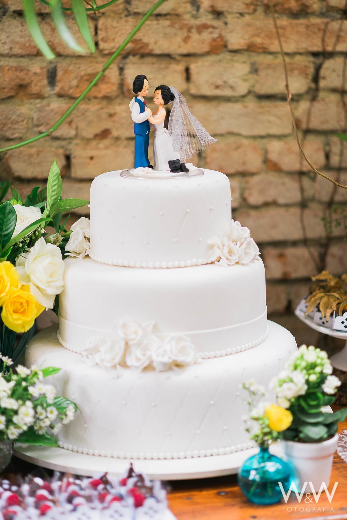topo de bolo casamento são paulo