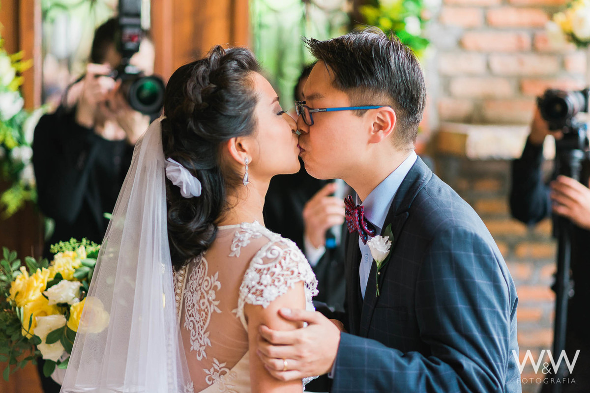 casamento cafe journal beijo são paulo cerimonia