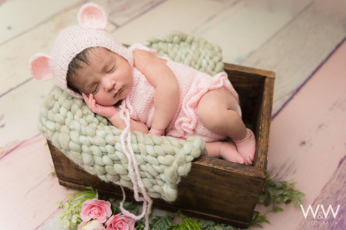 newborn  menina rosa são paulo wewfotografia