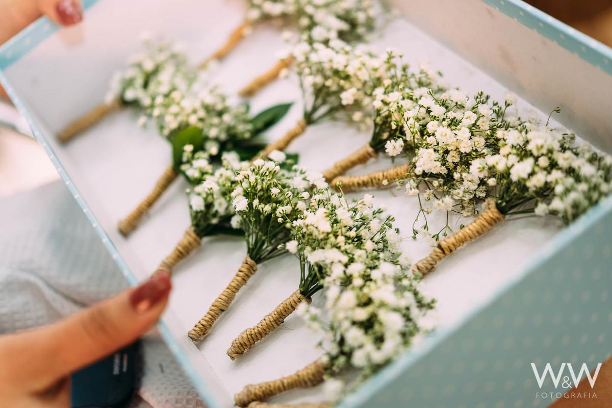 flor lapela casamento