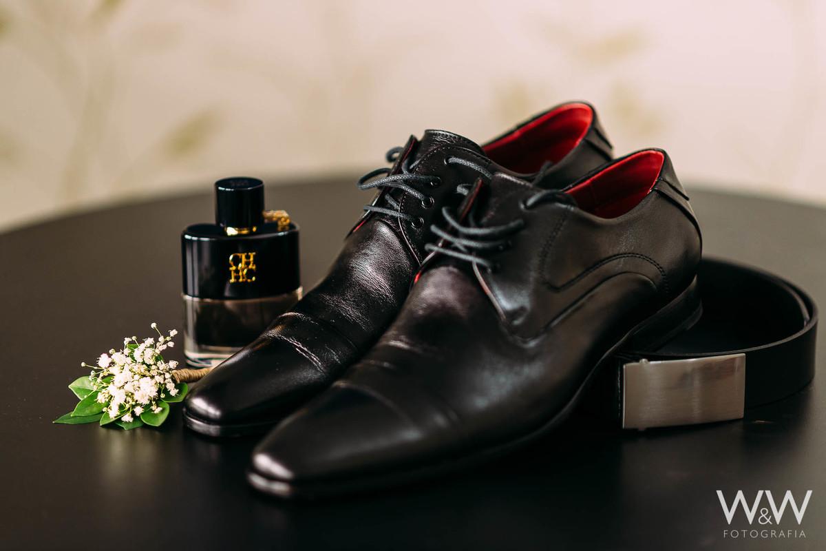 sapatos making of noivo casamento