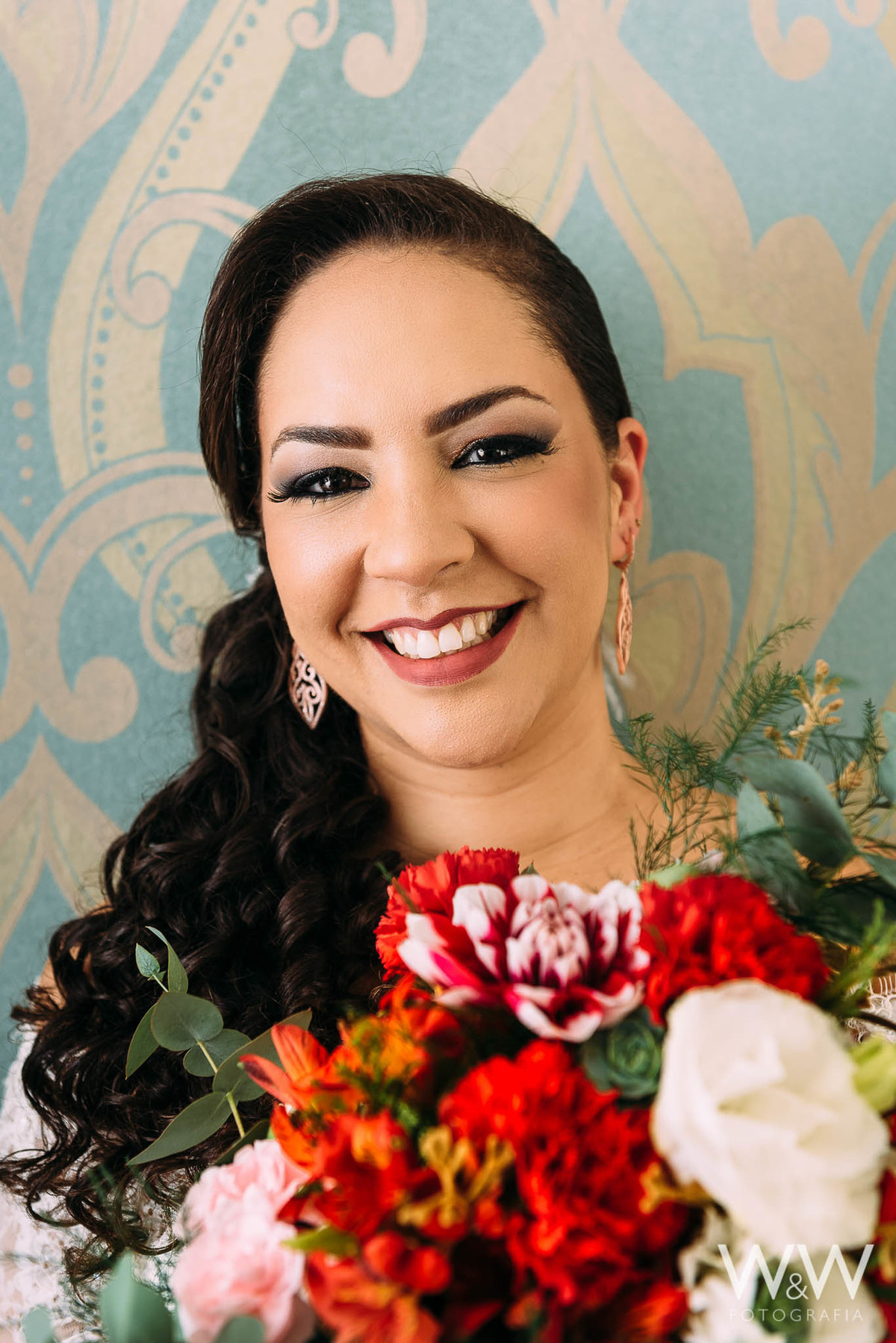 making of noiva casamento bouquet