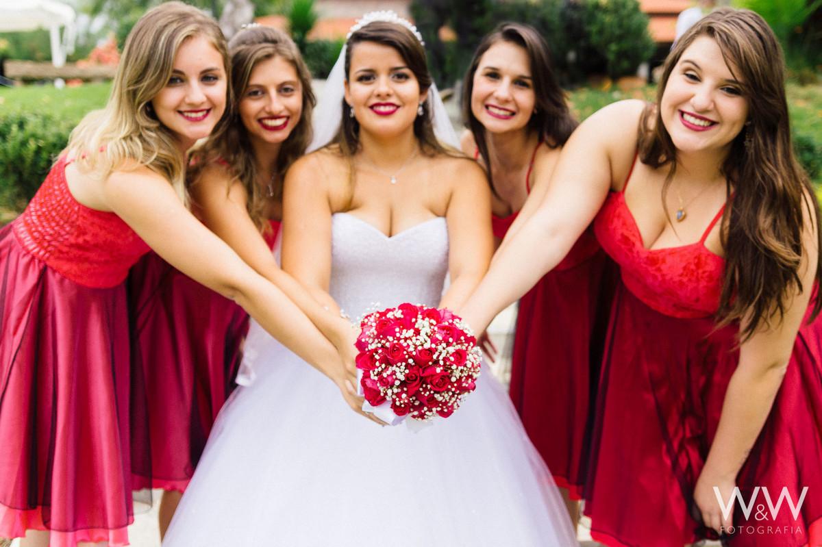 festa casamento ar livre boituva sp madrinhas