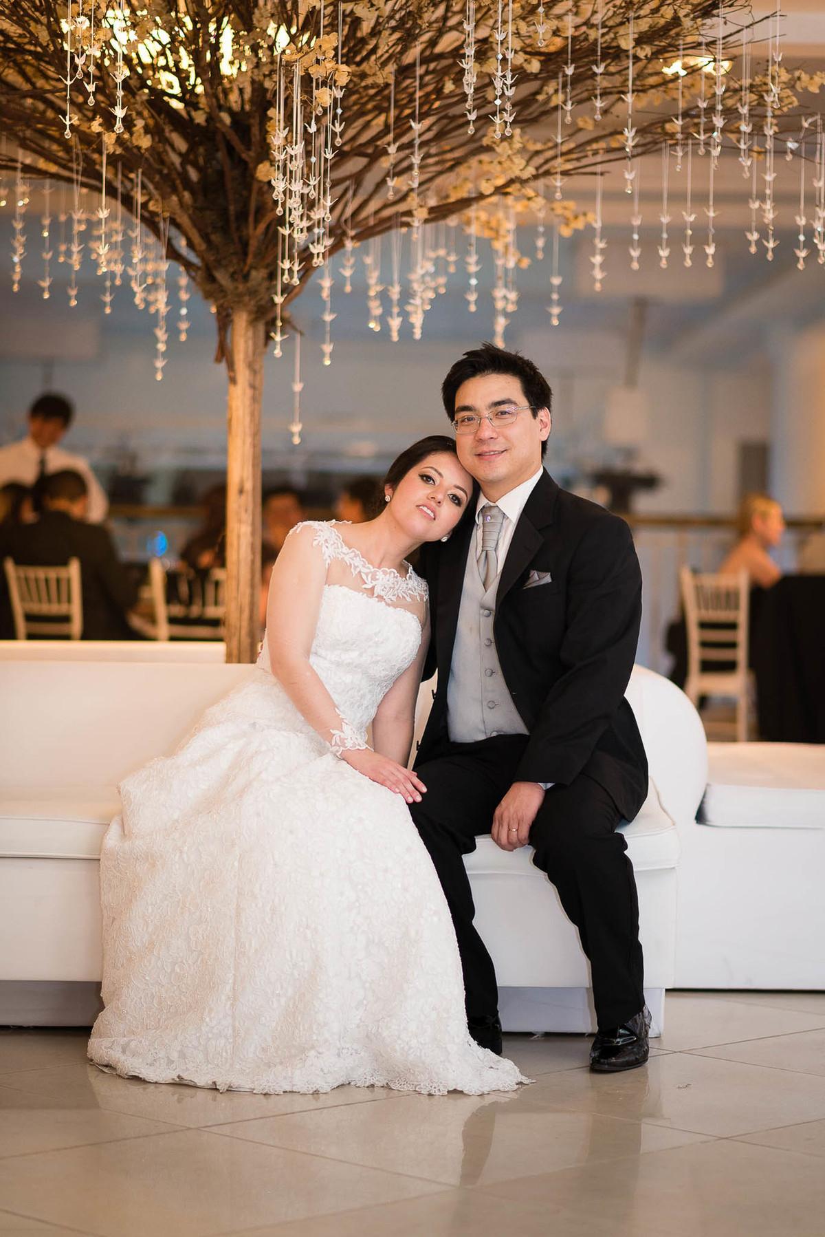 fotografia casamento espaço nobre são paulo casal noivos vestido de noiva decoração tsuru oriental wewfotografia