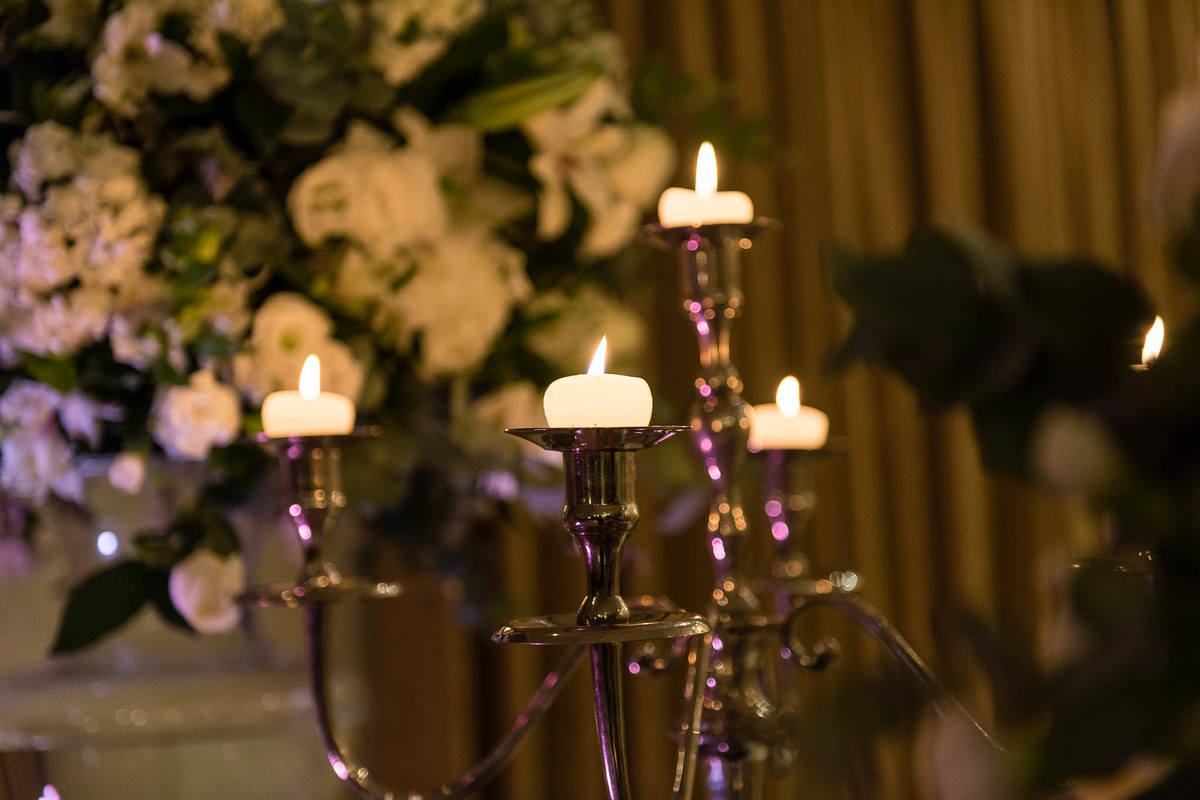 fotografia casamento espaço nobre são paulo velas decoração wewfotografia