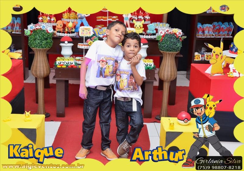 Foto de Kaique e Arthur