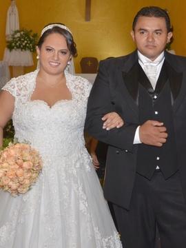 Casamentos de Daliane e Marcelo em Gloria