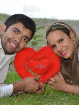 Ensaios de Ensaio Gilmara & Dashiel em Paulo Afonso - BA