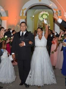 Casamentos de Aline & Rodolfo em Jeremoabo - BA