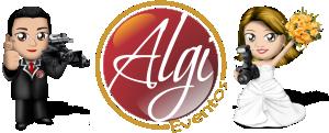 Logotipo de ALGI Eventos Filmagens e Fotografias