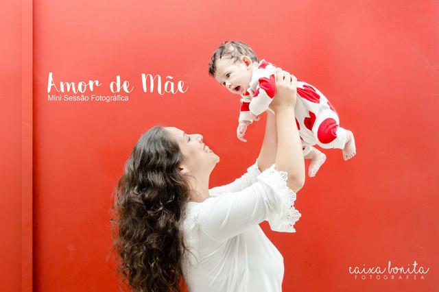 Ensaio Temático de Mini Sessão Fotográfica ♥ Amor de Mãe [ 2017 ]