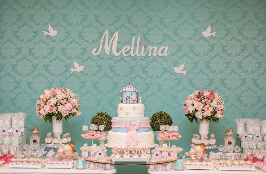 Foto de Mellina 1 ano | Aniversário