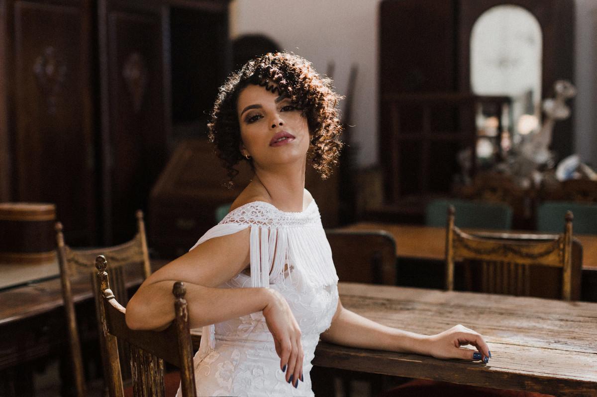 Noiva do editorial.  Foto feita pelo fotógrafo de casamento Gabriel Pelaquim.