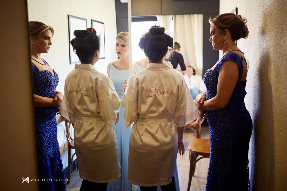 making of da noiva no hotel cambirela madrinhas conversando com a noiva