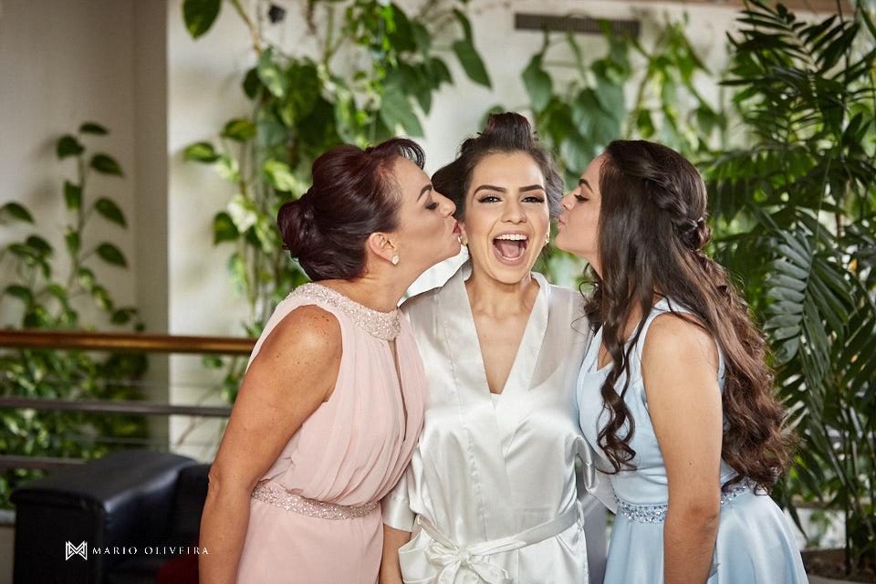 making of da noiva no hotel cambirela mãe e irmã da noiva