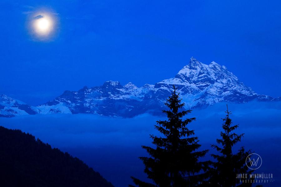 full moon in gryon
