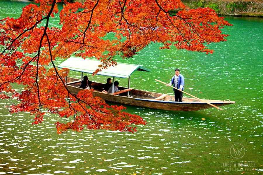 arashyama river