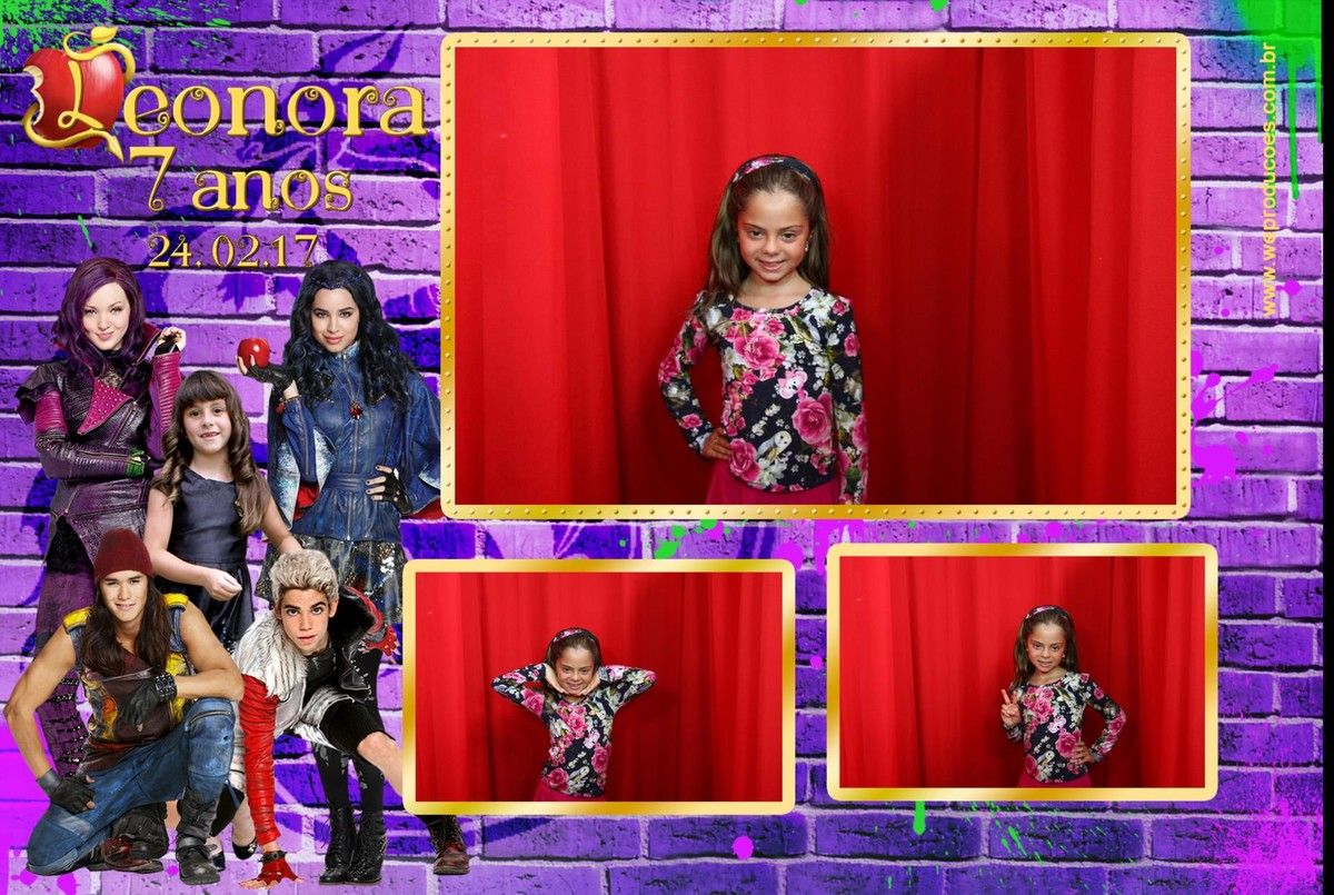 Foto de 7 anos Leonora