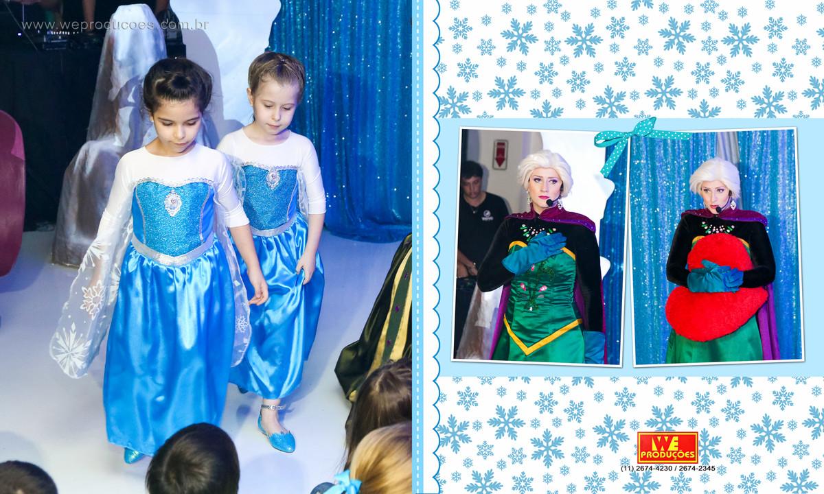 Foto de 6 anos Roberta e Maria Fernanda