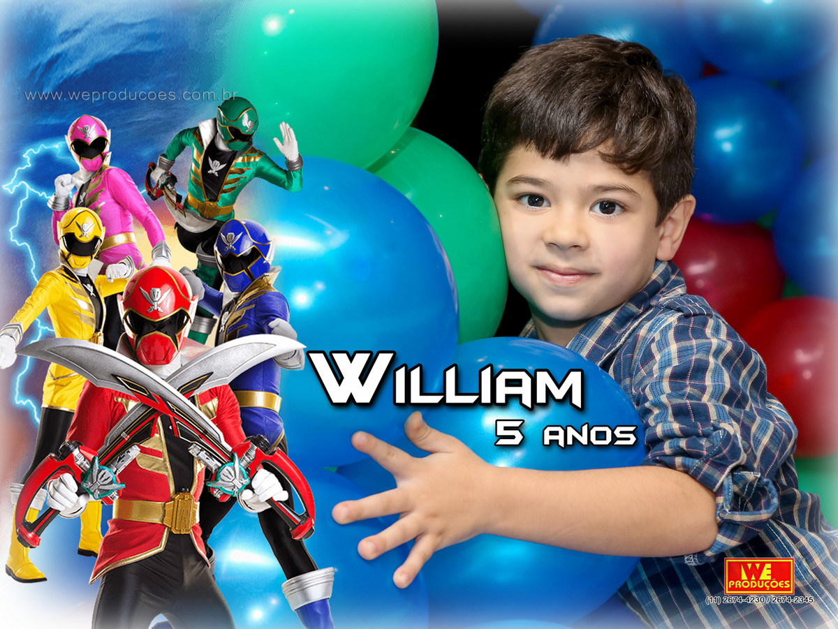 Foto de 5 anos William