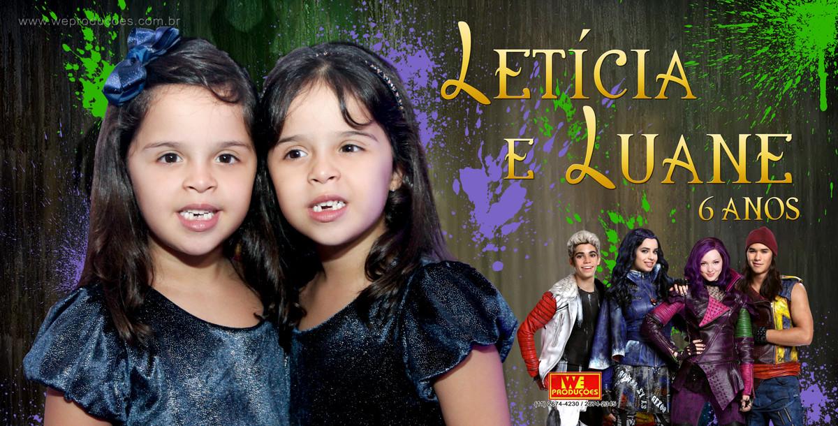 Foto de Letícia e Luane