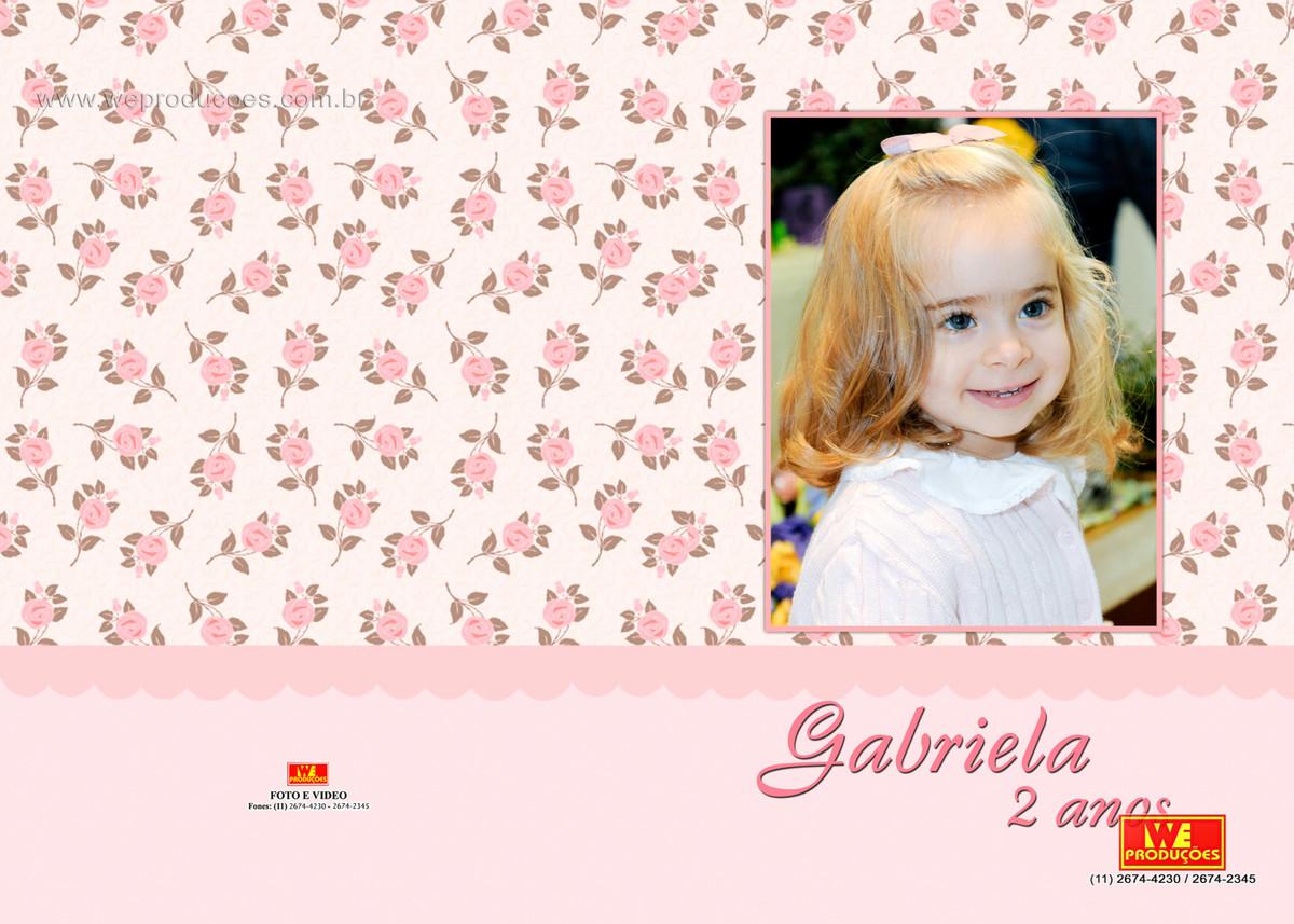 Foto de 2 anos Gabriela